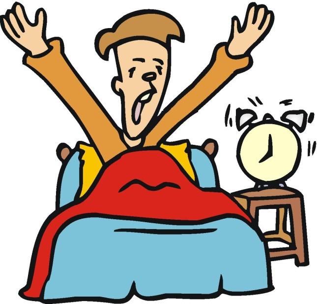 """""""Wake up"""":Ngừng ngủ và mở mắt ra."""